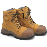 Blundstone Wheat Zipsider Safety Boot