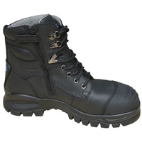 Blundstone Black Zipsider Safety Boot