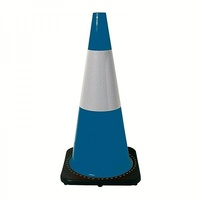 700mm Blue Reflective Heavy Duty Traffic Cones