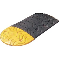 Rubber Speed Humps - End Section 250mm long