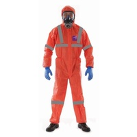 Microgard 1500 Plus Coverall Type 5 & 6 with Anti-Static Treatment Reflective Orange