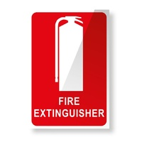 Fire Safety Signs - Plastic