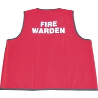 Fire Warden Vests