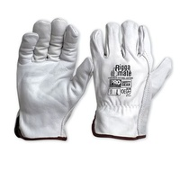 Cow Grain Natural Rigger Gloves