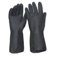 Black Neoprene Gloves