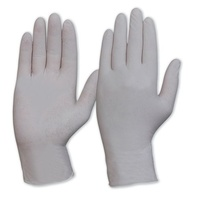 Natural Latex Disposable Gloves - Powderfree