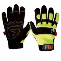 Profit Synthetic Leather Gloves - With fingers