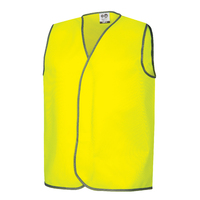 Fluoro Yellow Safety Day Vests