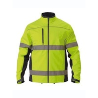 Premium Soft Shell Jacket With 3M Reflective Tape