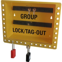 Lockout Safety Red Group Lock Box