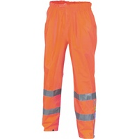 Breathable Rain Pants with Reflective Tape