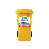 120ltr Wheelie Bin Spill Kit - Chemical