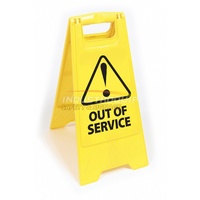 Out of Service Floor Sign