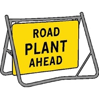 Swing Stand & Sign - Road Plant Ahead