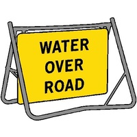 Swing Stand & Sign - Water Over Road - 900 x 600mm