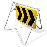 Swing Stand & Sign - Chevron - 1200 x 900mm