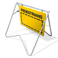Swing Stand & Sign - Pedestrians - 600 x 900mm