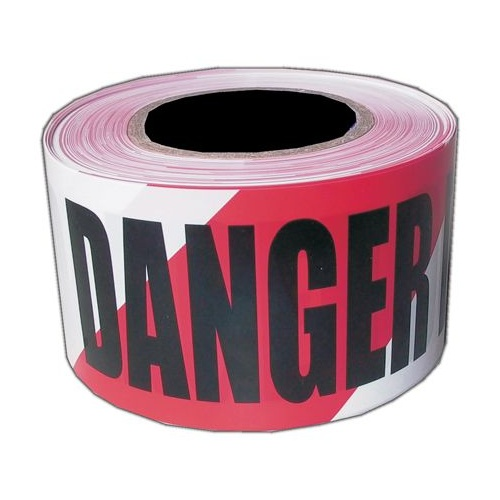 Danger Do Not Enter Barrier Tape - 100M x 75mm