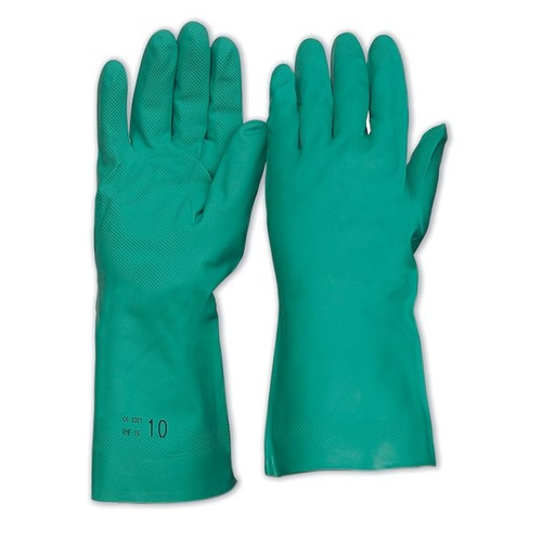 Nitrile Chemical Gloves - 33cm