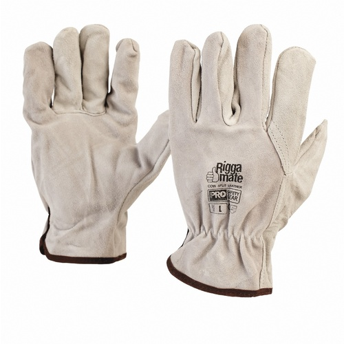 Riggamate Cowsplit Leather Gloves - 7