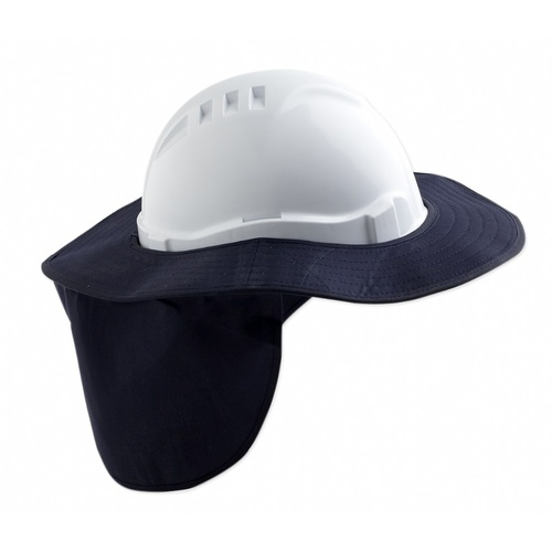 Hardhat Brim & Neck Flap - Canvas