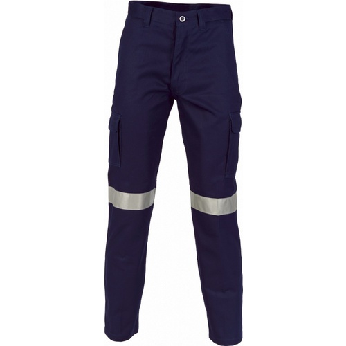 Cargo Drill Pants - Reflective - Navy - 122S
