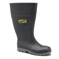 Blundstone® Steel Safety Cap Gumboots - Grey PVC / Nitrile