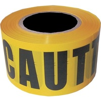 Caution Barrier Tape 100M x 75mm
