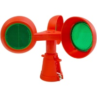 Rotolite Wind Powered Rotating - Green Beacon