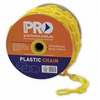 Plastic Safety Chain - 6mm x 40m
