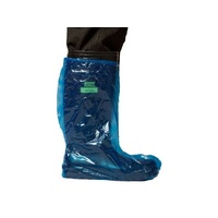 Boot Covers - Waterpoof - 500mm Blue - 500 in Carton