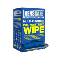 Lens Cleaning Wipes Alcohol Free Pre Moistened (Pack of 100)