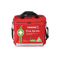 Commander 6S Large Portable First Aid Kit - Soft Case