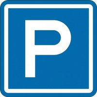 G7-6-1A Parking Sign - 600mm x 600mm