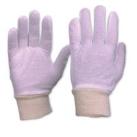 Interlock Poly/Cotton Liner With Knitted Wrist