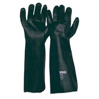 Green PVC Gloves - 45cm