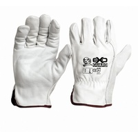 Exoguard Premium Leather Rigger Safety Gloves