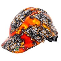 Candy Sugar Skull Design Hard Hat