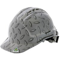 Checker Plate Design Hard Hats