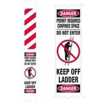 Ladder Lockout Protector Wraparound Banner