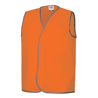 Fluoro Orange Safety Day Vests