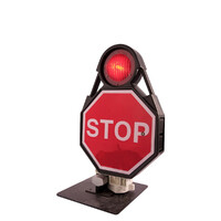 LED Rail Mount Possession Limit Board (Stop Sign)