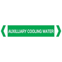Auxilliary Cooling Water Pipe Marker