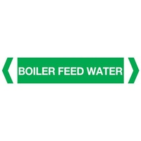 Boiler Feed Water Pipe Marker (Pack of 10)