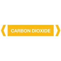 Carbon Dioxide Pipe Marker (Pack Of 10)