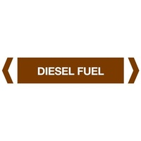 Diesel Fuel Pipe Marker (Pack Of 10)