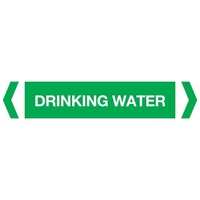 Drinking Water Pipe Marker (Pack Of 10)