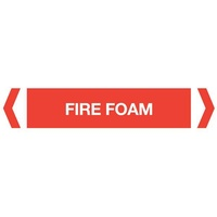 Fire Foam Pipe Marker (Pack Of 10)