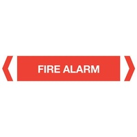 Fire Alarm Pipe Marker (Pack Of 10)