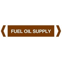 Fuel Oil Supply Pipe Marker (Pack Of 10)